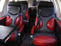 2008 Bombardier Learjet 40XR Cabin